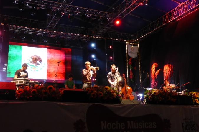 Troker de Mexico live concert - Medellin, Colombia