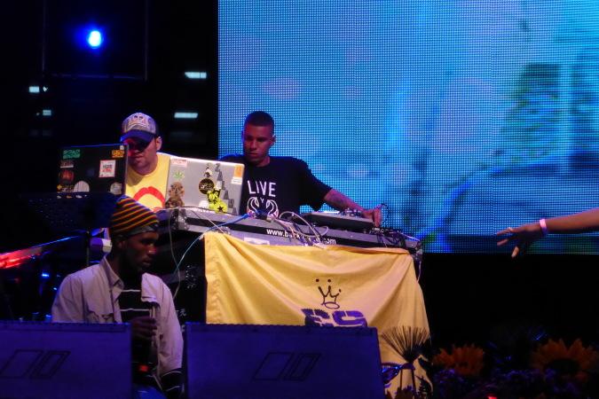 Zalama Crew live concert - Medellin, Colombia 2013