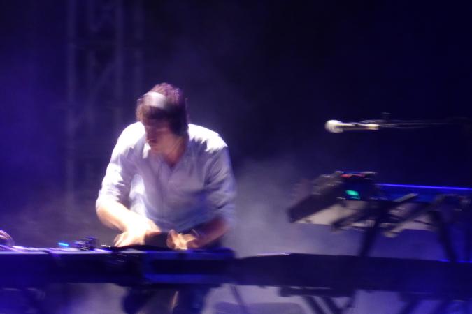 Bajofondo live at Teatro Metropol - Bogota, Colombia - 2013