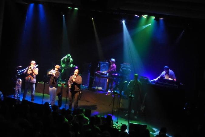 Fat Freddys Drop live in Brisbane - Blackbird Tour - 2013