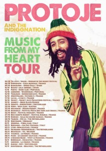 Protoje - Music From My Heart Tour Poster - www.beaveronthebeats.com