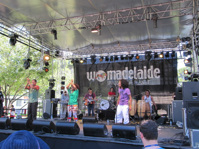 Sidestepper live at WOMADelaide 2011
