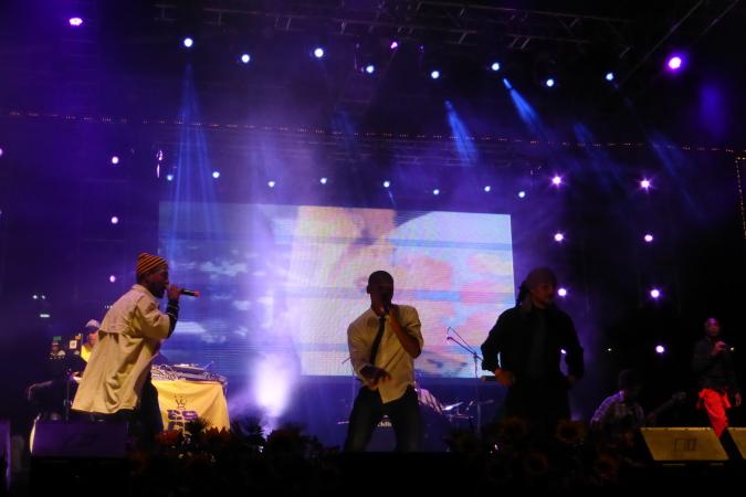 Zalama Crew concert in Medellin, Colombia 2013