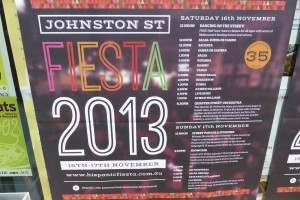 Johnston St Fiesta - 2013 - www.beaveronthebeats.com