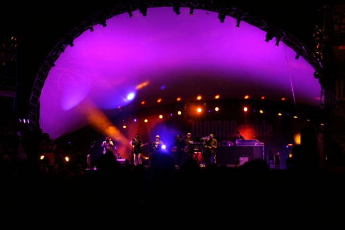 Fat Freddys Drop live concert - WOMADelaide 2014