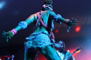 Femi Kuti & The Positive Force live @ WOMADelaide 2014