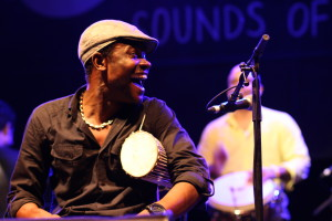 Cherif Soumano with Roberto Fonseca live @ WOMADelaide 2014