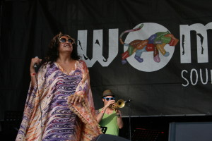 The Brown Hornet live @ WOMADelaide 2014