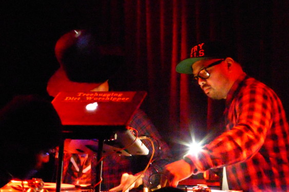 DJ Lo Down Loretta Brown (aka Erykah Badu) - Melbourne, Australia - April 2014