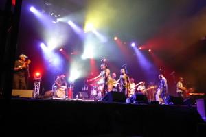 Seun Kuti & Egypt 80 live @ Byron Bay Bluesfest 2014