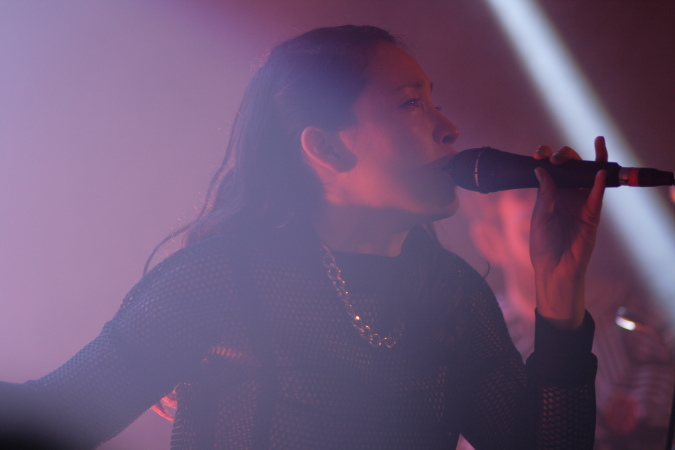 Little Dragon live @ Oxford Art Factory, Sydney - August 2014