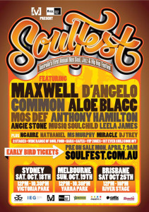 Soulfest 2014 flyer
