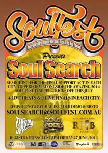 Soulfest 2014 - Soul Search Competition
