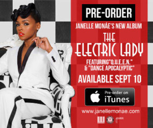 Buy new Janelle Monae cd from music stores or pre order on iTunes?