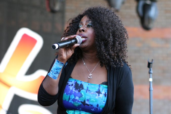 Angie Stone live at Brisbane Soulfest 2014