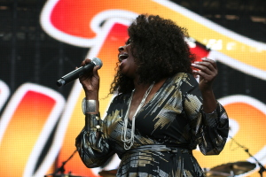 Angie Stone live @ Soulfest Melbourne 2014