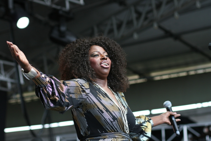 Angie Stone live at Melbourne Soulfest 2014