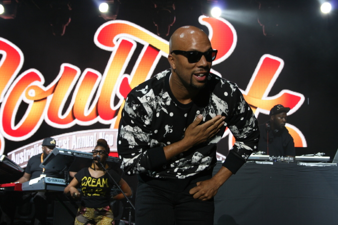Common live at Soulfest 2014 Brisbane