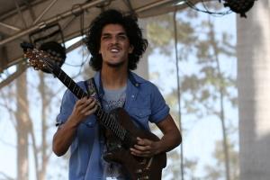 w/ Jordan Rakei live @ Brisbane Riverstage 2014