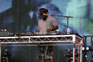 Mos Def DJ live in Melbourne 2014