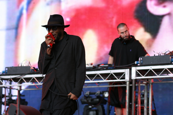 Mos Def live at Mellbourne Soulfest 2014