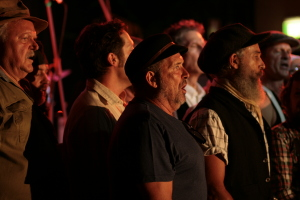 Dustyesky Male Choir at Mullum Music Festival 2014