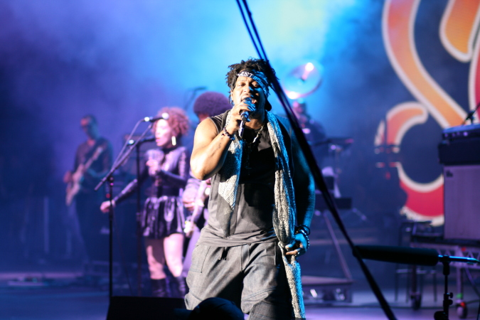 D'Angelo & The Vanguard live at Soulfest Melbourne 2014