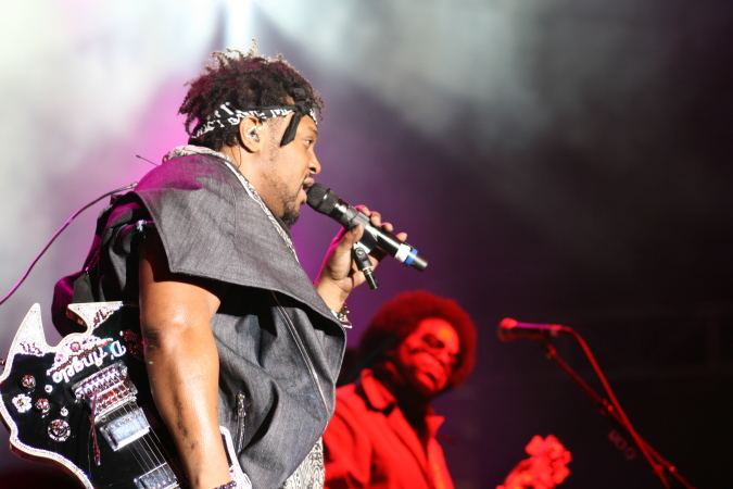 D'Angelo live at Soulfest Melbourne 2014