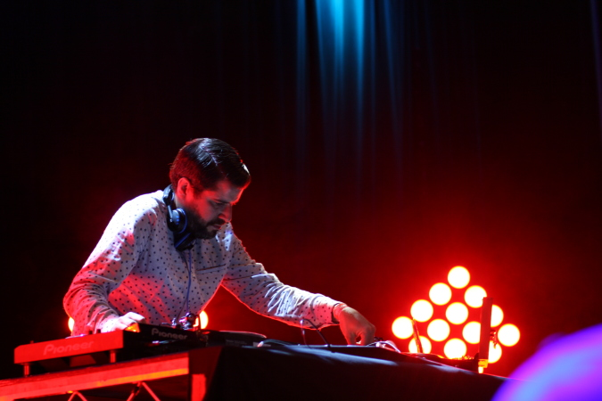 Quantic aka Will Holland live at WOMADelaide 2014