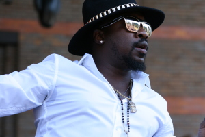 Anthony Hamilton live at Brisbane Soulfest 2014