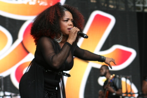 Leela James live at Melbourne Soulfest 2014