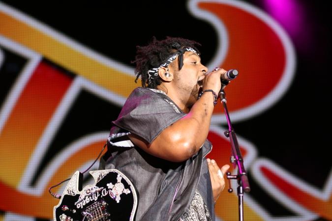 D'Angelo live concert - Melbourne Soulfest 2014