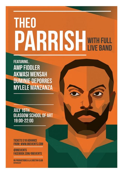 Theo Parrish Tour with Myele Manzanza