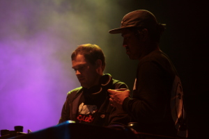 Invisible City DJs at WOMADelaide 2015
