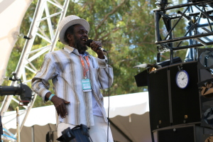 Prince Alla with Mista Savona live at WOMADelaide 2015