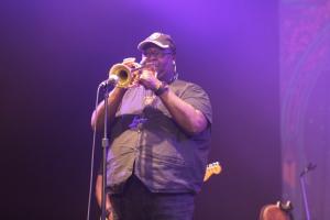 Bennie Cowan- Parliament Funkadelic concert - Byron Bay Bluesfest 2015