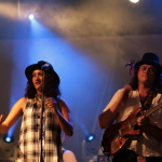 Fly My Pretties live concert - Byron Bay Bluesfest 2015 - Australia