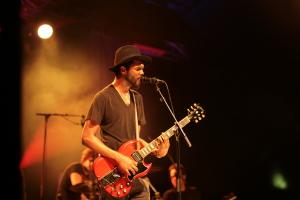 Gary Clark Jr. live concert - Byron Bay Bluesfest 2015 - Australia