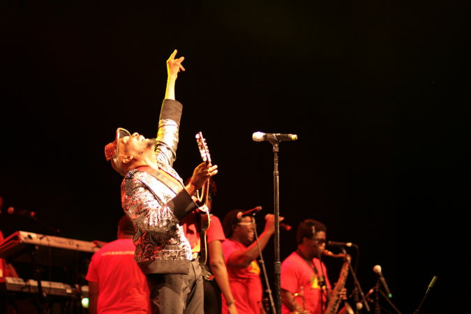 Jimmy Cliff live concert - Byron Bay Bluesfest 2015 - Australia