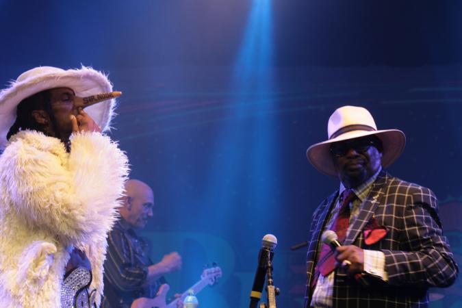 George Clinton & Parliament Funkadelic live concert - Byron Bay Bluesfest 2015 - Australia