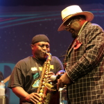 Parliament Funkadelic live concert - Byron Bay Bluesfest 2015 - Australia