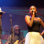 Tonysha Nelson - Parliament Funkadelic concert - Byron Bay Bluesfest 2015 - Australia