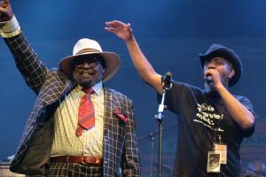 George Clinton & Parliament Funkadelic live concert- Byron Bay Bluesfest 2015 - Australia