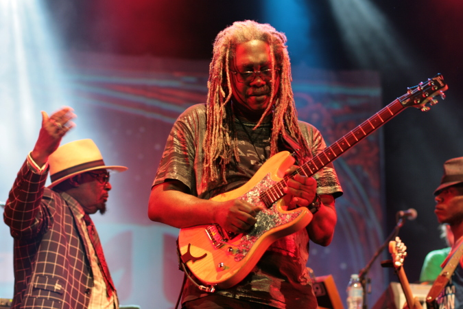 Blackbyrd McKnight + George Clinton - Parliament Funkadelic concert 2015