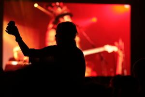 Xavier Rudd & The United Nations live concert - Byron Bay Bluesfest 2015 - Australia