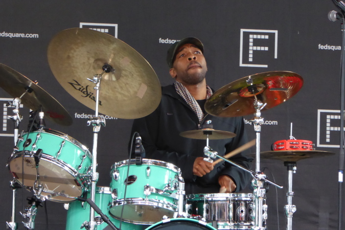 Eric Harland live at Melbourne International Jazz Festival 2015