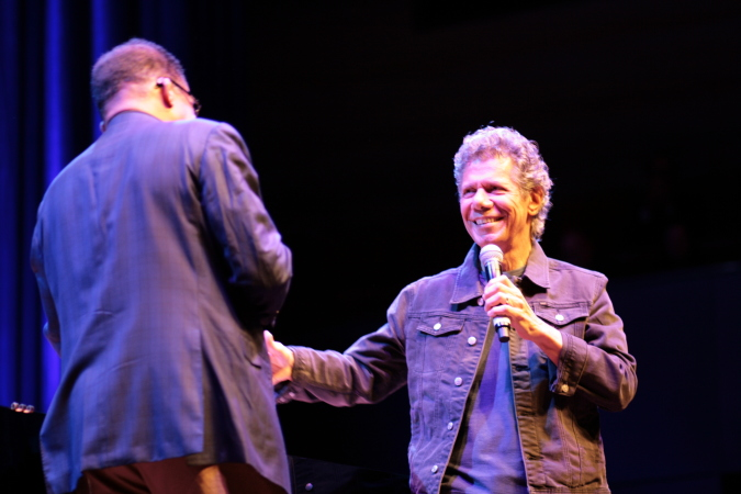 Herbie Hancock & Chick Corea concert at Melbourne International Jazz Festival 2015