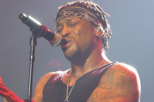 D'Angelo & The Vanguard live concert at London Roundhouse