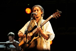 Nneka live in concert at Eutropia Festival 2015