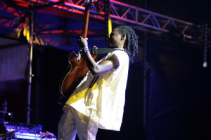 with Nneka live in concert at Eutropia Festival 2015